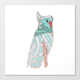 The parrot a la cockatoo Canvas Print