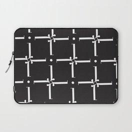 "Wallpaper - The Didot ""j"" Project Laptop Sleeve"