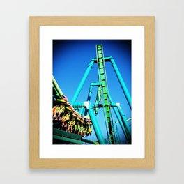 Life is a Roller Coaster Framed Art Print