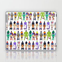Superhero Butts - Power Couple on Grey Laptop & iPad Skin