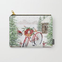 Winter Bicycle Carry-All Pouch