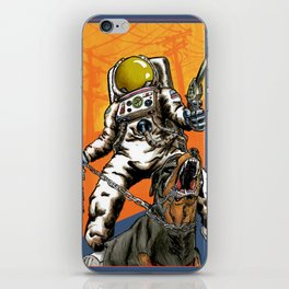 Angry Astronaut iPhone Skin