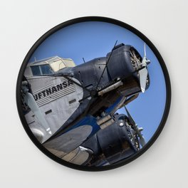 Junkers Ju52 Wall Clock