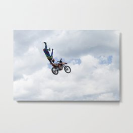 Up in Air Metal Print