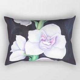 Peristeria Elata Orchidaceae Rectangular Pillow