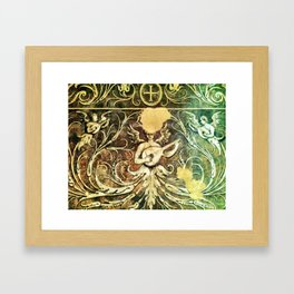Brussels Angel Framed Art Print