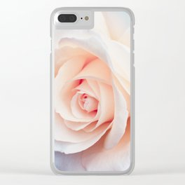Flowers Photography | Rose | Spring | Easter | Blush Pink Clear iPhone Case