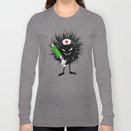 Evil Bug Nurse With Syringe Long Sleeve T-shirt