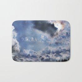 Swell sky Bath Mat