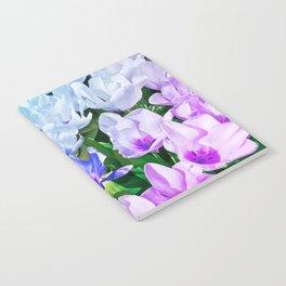 Blue Indigo Tulips Notebook