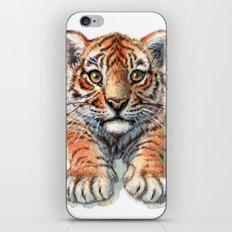 Playful Tiger Cub 907 iPhone & iPod Skin
