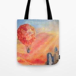 Hot Air Bloom Tote Bag