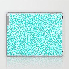 Turquoise Leopard Laptop & iPad Skin