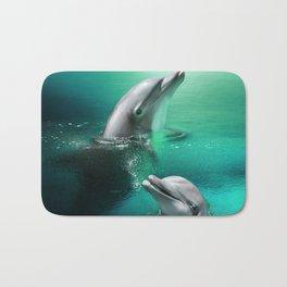 Dolphin Delights Bath Mat