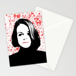 The Woman Stationery Cards