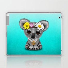 Cute Baby Koala Hippie Laptop & iPad Skin