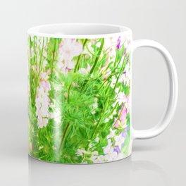 Larkspur Flowers in Soft oil Style Coffee Mug