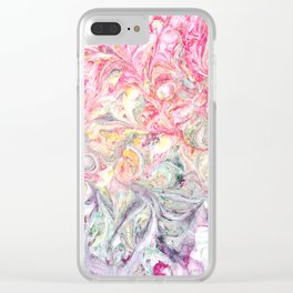 Fading Swirl Clear iPhone Case