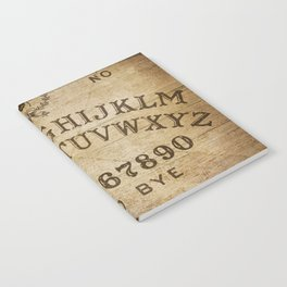 Ouija Board (Rustic Version) Notebook