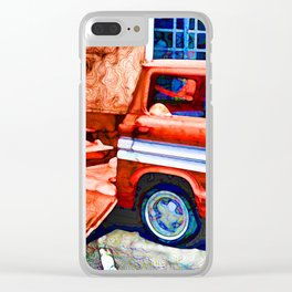 An Old Pickup Truck2 Clear iPhone Case