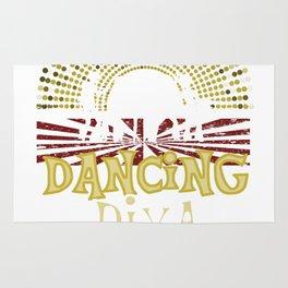 Disco Dancing Diva 70s Retro Vintage Rug