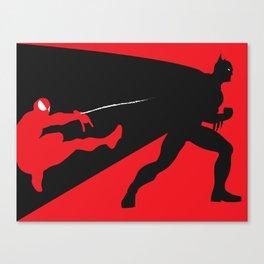Marvel Vs DC Canvas Print