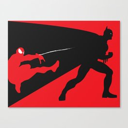 Marvel Vs DC Canvas Print