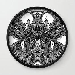 Subconscious Throne of Death  Wall Clock