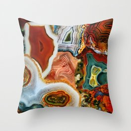 The Earth for the all-pervading Skies, the Moon and the Sun Throw Pillow