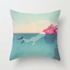 s u b Throw Pillow