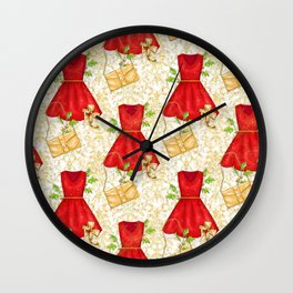 Chistmas fashion Wall Clock