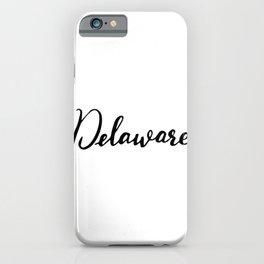 Delaware (DE; Del.) iPhone Case
