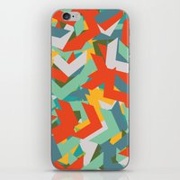 chevron iPhone & iPod Skins featuring Chevron by INDUR