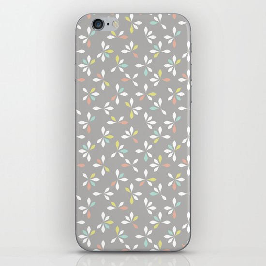 loves me loves me not pattern - pastel iPhone & iPod Skin