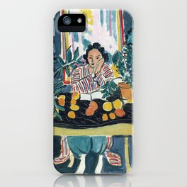 Interior with Etruscan Vase - Henri Matisse - Exhibition Poster iPhone Case