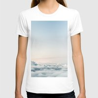 aviation T-shirts featuring Cloudscape by Kristina Jovanova