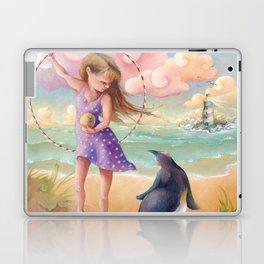 Z imagination Felicity and Fritz, Orphic Wanderers Laptop & iPad Skin