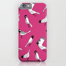 Bird Print - Shocking Pink iPhone 6s Slim Case