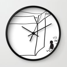 It's cold outside the box... Wall Clock