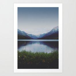Glacier Shores Art Print