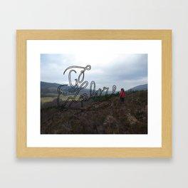 Go Explore Framed Art Print