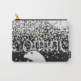 Polar bears winter coming Carry-All Pouch