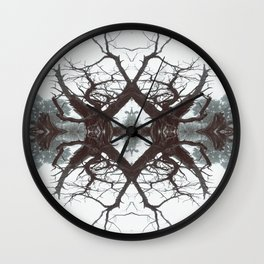 : into the trees :  Wall Clock