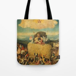The Haywain Triptych - Hieronymus Bosch Tote Bag