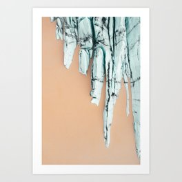 Above the Glacier P1 Art Print