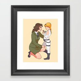 The Carters Framed Art Print