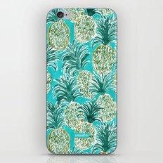 PINEAPPLE O'CLOCK iPhone & iPod Skin