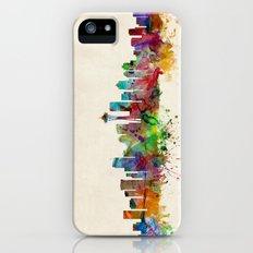 Seattle Washington Skyline iPhone SE Slim Case