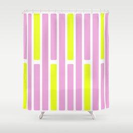 Lemon Bars in PINK Shower Curtain