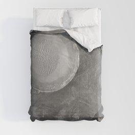Schroeter Crater - Mars surface Telescopic Photograph Comforters